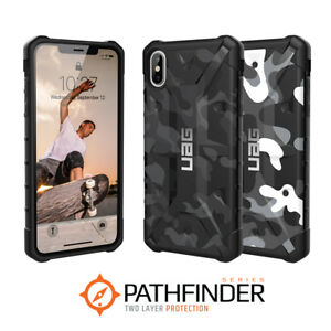 low priced b403f 5fe12 Details about Urban Armor Gear UAG iPhone XS MAX Camo Pathfinder Military  Camouflage Case