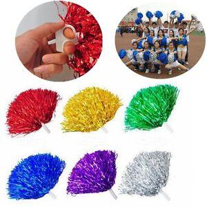 1Pair-Handheld-Pom-Poms-Cheerleader-Cheerleading-Cheer-Pom-Dance-Party-Club-Deco