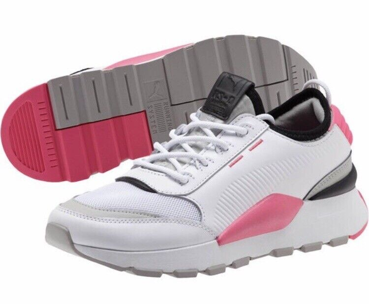 New Puma Womens Size 7 Rs-0 Sound Sneakers White 368087-04