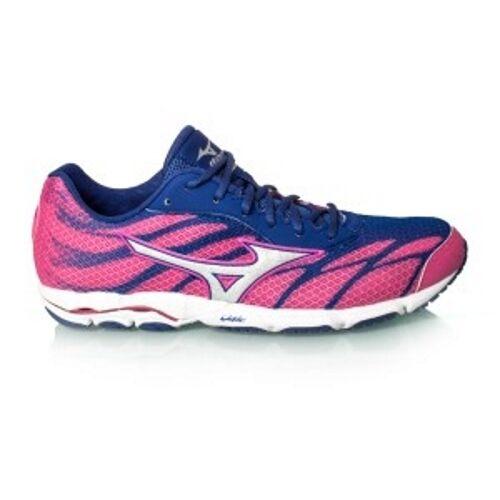 Mizuno Wave Hitogami 3 femmes Crossrunning chaussures (B) (03 Carmine Rose)
