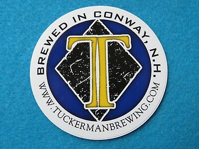 Beautiful Beer Sticker ~ Tuckerman Brewing Co ~ Conway New Hampshire Craft Brewery Collectibles