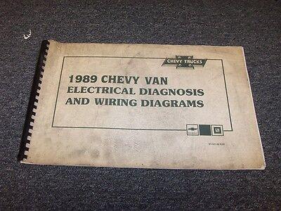1989 chevy van wiring diagram 1989 chevy g10 g20 g30 g van sportvan factory electrical wiring  1989 chevy g10 g20 g30 g van sportvan