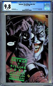 Batman: The Killing Joke CGC 9.8 (1988, DC) First Print. Alan Moore & Bolland