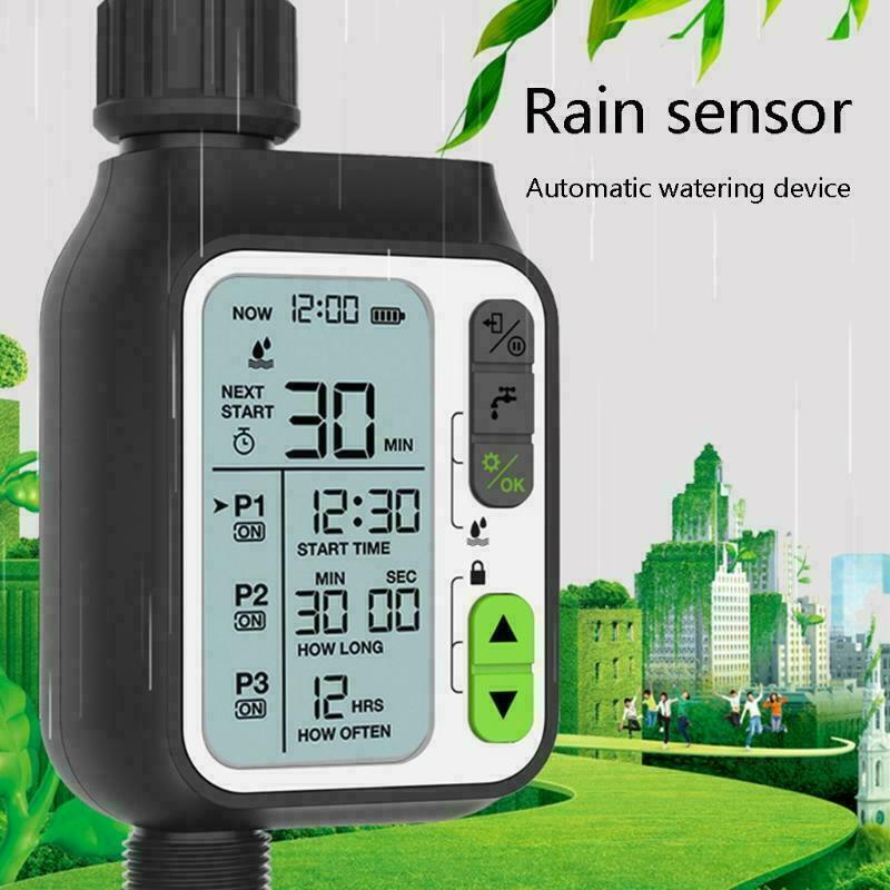 Electronic Automatic Water Timer Irrigation Controller for Yard Irrigation L