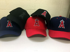 Los-Angeles-Angels-Cap-Hat-of-Anaheim-Embroidered-LA-Adjustable-Curved-Men