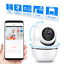 Wireless-WiFi-Video-Baby-Monitor-Camera-with-Monitor-Night-Vision-1080p thumbnail 1