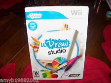 uDraw Studio Game  (Wii, 2011) with uDraw Game Tablet