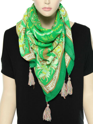 Colorful Women/'s Soft Long Viscose Scarf Shawl Fashion Ladies Scarves