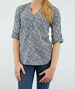 NEW-Fat-Face-Ladies-Navy-Ditsy-Floral-Top-RRP-35-Now-16-Save-19
