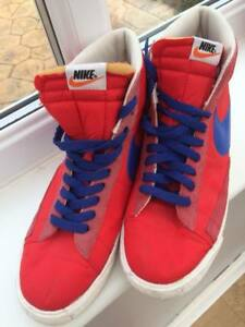 Genuine Nike Hi Tops in red and blue