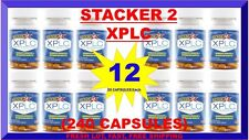 Stacker 2 XPLC Weight Loss & Energy Dietary 20 ct Lot 12 X= (240 Capsules) 08/18