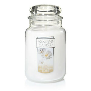 ☆☆EARLY SPRING BLOOM☆☆ LARGE YANKEE CANDLE JAR~☆☆FLORAL SCENTED CANDLE