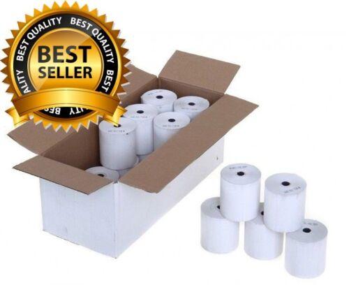 Printer Rolls 20 Rolls PDQ Rolls 57mm x 40mm Thermal Till Rolls