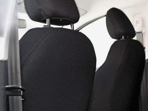 Car seat covers fit Skoda Fabia grey full set black