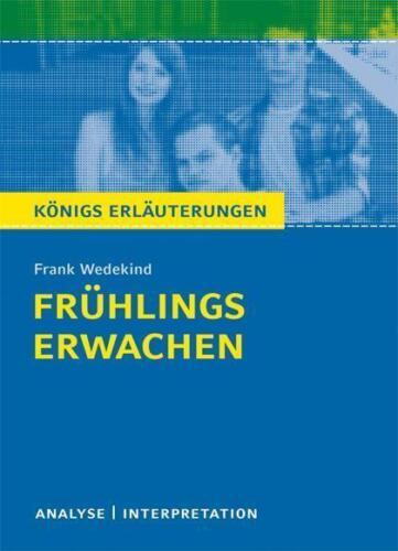 1 von 1 - Frühlings Erwachen von Frank Wedekind. von Frank Wedekind (2016, Taschenbuch)