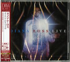 DIANA ROSS-LIVE AT CAESARS PALACE-JAPAN SHM-CD Ltd/Ed C65