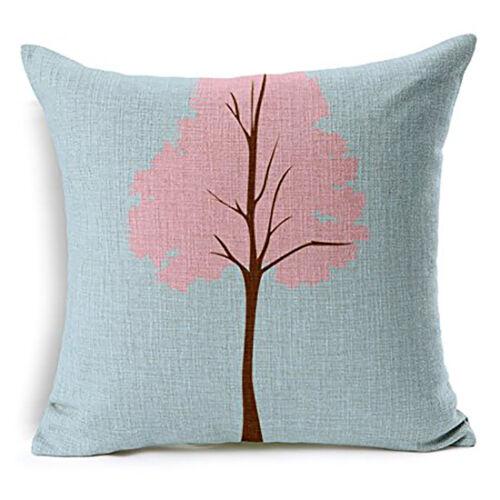 """Owl-02 Cotton Linen Pillow Case Sofa Cushion Cover Throw Pillowcase 18/"""""""