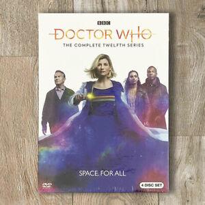 Doctor-Who-Season-12-DVD-2020-4-Disc-Set-Fast-Shipping-US-Seller