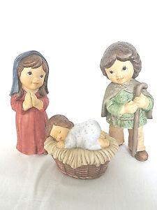 Goebel -  N & M Krippe Maria Josef Jesuskind  Heilige Familie