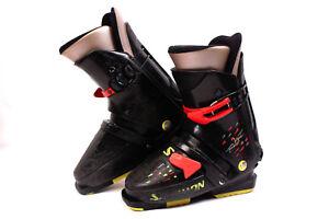 Details zu SALOMON S25 Alpin Kinder Skischuhe Gr. 36,5 | MP 23.5 Ski Boots Abfahrtskischuhe