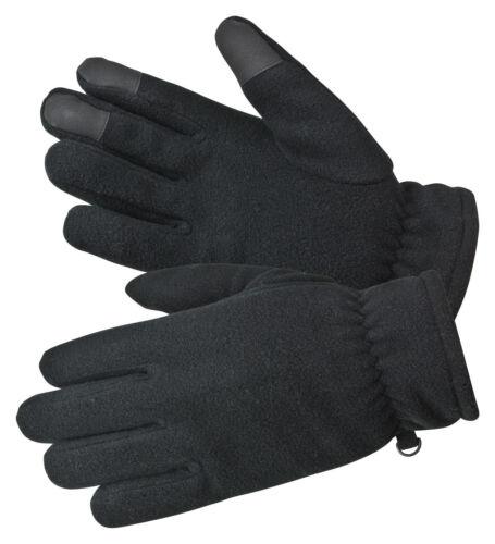 Bullstar Fleece-gant touch avec innovantes touch-fonction Noir taille xxl
