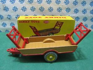 Vintage - Dinky Toys 320 Halesower Farm Remorque Mib