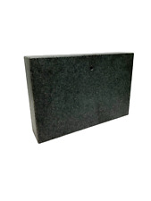 Solid Black Granite Surface Plate 18 X 12 X 4 With 12 To 1 Mounting Hole