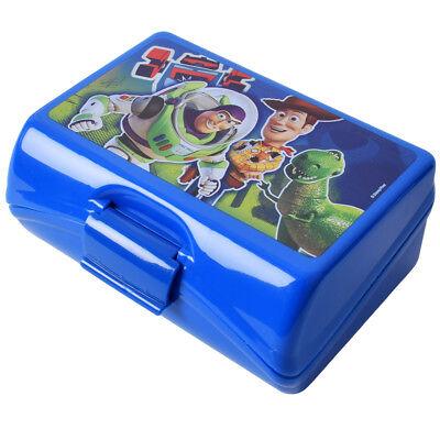 Disney Toy Story 3 Brotdose Sandwich Box mit Einsatz und Klickverschluss