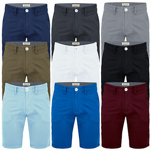 Mens-Chino-Shorts-Cotton-Summer-Casual-Jeans-Cargo-Combat-Half-Pants-Casual-New