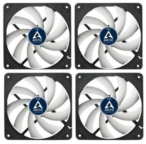 3 x Pack of Arctic Cooling F12 PWM PST CO 120mm Case Fans 1350 RPM