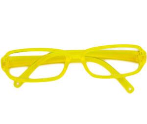 Yellow Modern Frame Glasses for American Girl Dolls