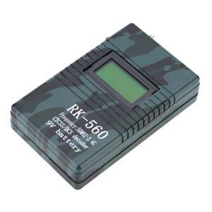Contador de Frecuencia Precisión Portátil RK560 50MHz-24GHz DCS CTCSS Medidor