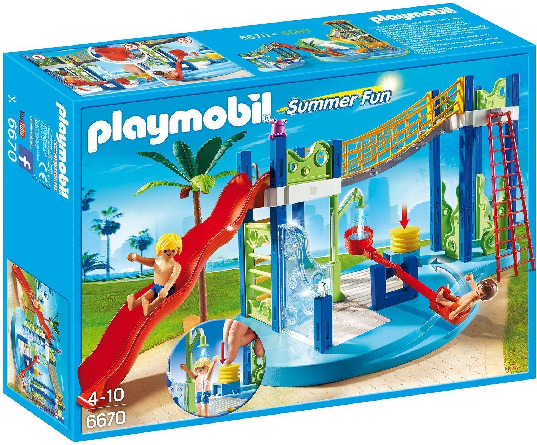 Playmobil 6670 Summer Fun - Zona de Juegos Acuática - New and sealed
