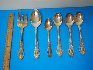 Olde Chelsea Teaspoon Fork Silverplate Flatware Korea Ebay