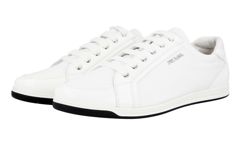 shoes PRADA LUSSO 3E5892 BIANCO NUOVE 39 39,5 UK 6