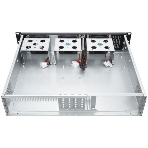 Rosewill RSV-Z2600 Metal//Steel 2U Rackmount Server Chassis with 3 Fans