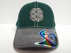Black Clover Cap Luck BC Wool  1 Green Stretch Fit Golf Hat Live ... 3fea07d38f60