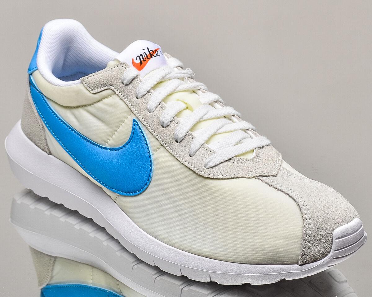 Nike roshe ld-1000 männer lifestyle casual turnschuhe neue gipfel weiß - blau leuchten