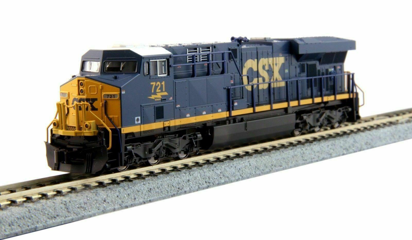 Kato N 1768929 n ES44AC Locomotora CSX Transportation Cab  721