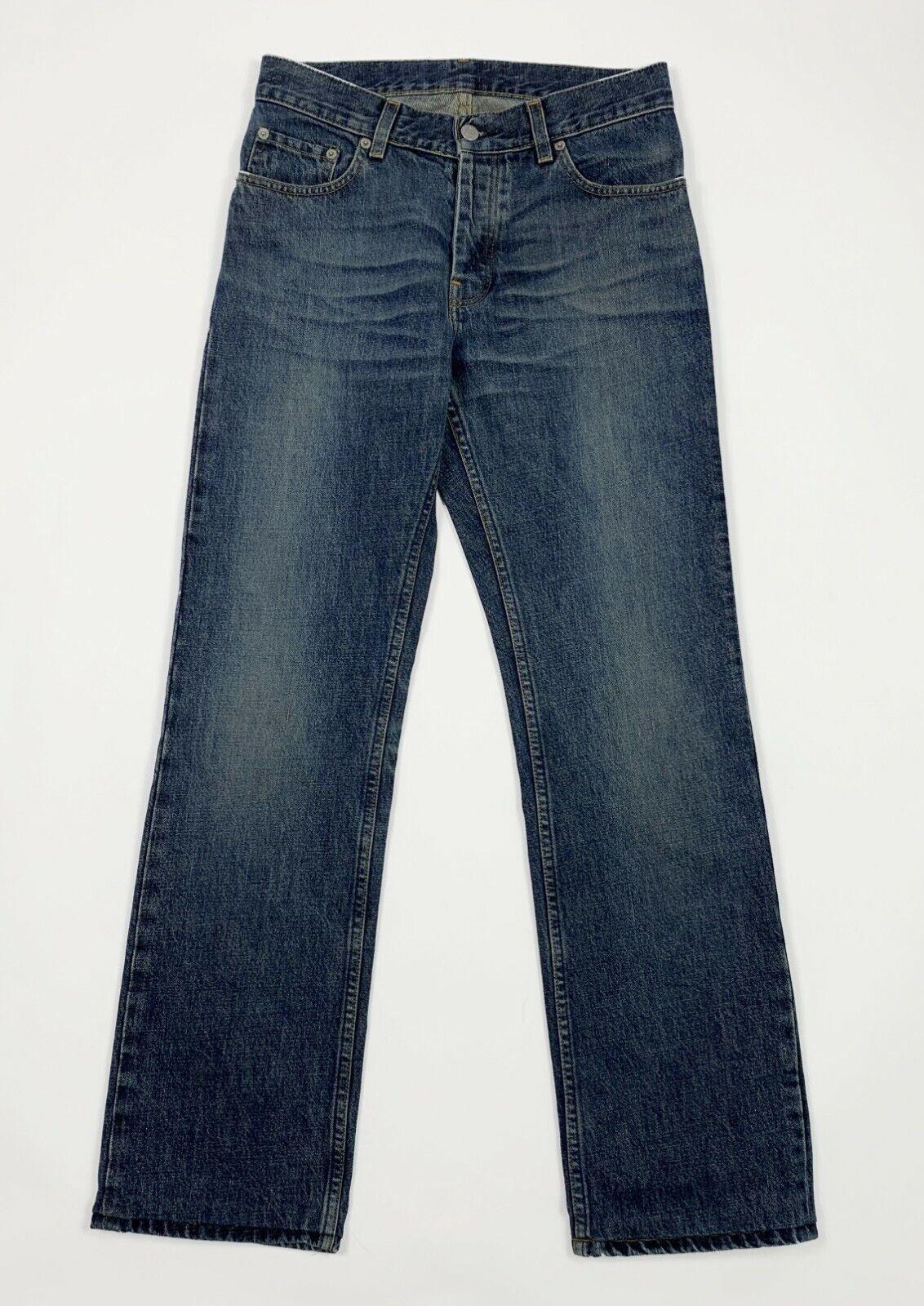 Helmut LANG JEANS ladies used w29 TG 43 Straight Leg Classic Denim Vintage t5324