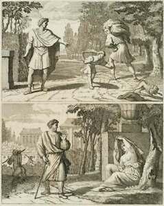 Moralisierende-Darstellung-Der-tugendhafte-Wanderer-18-Jh-Radierung