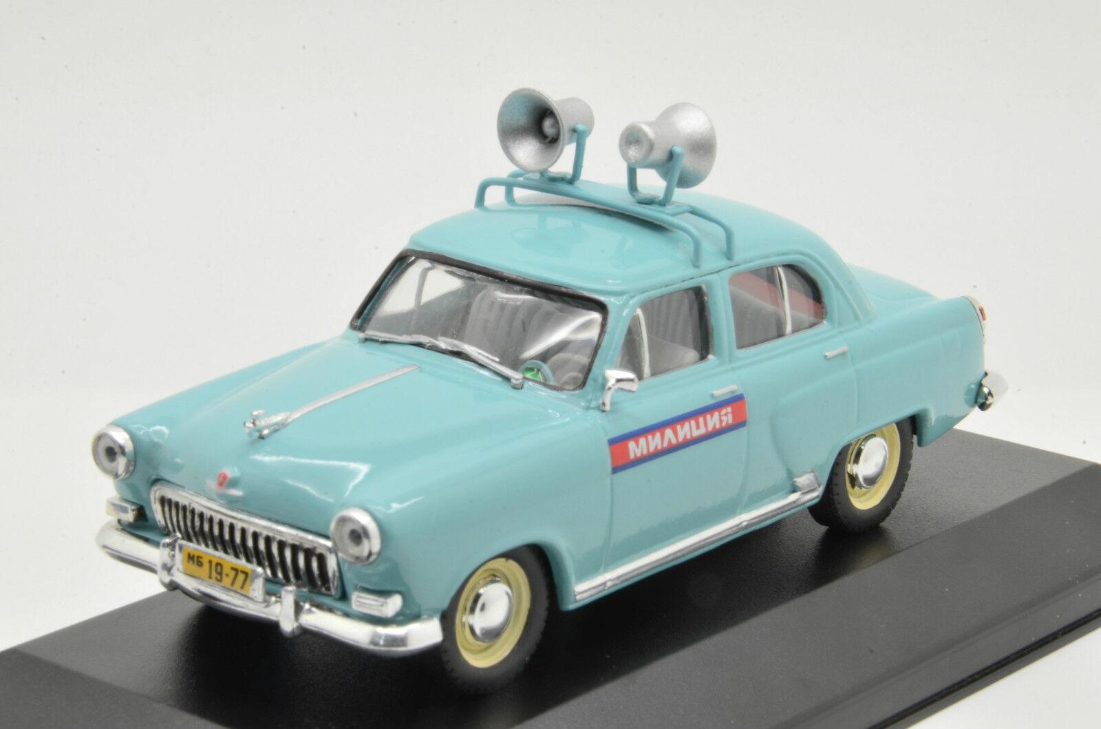 Rara Volga Gaz M21 milicya policía USSR 1 43 Por Encargo