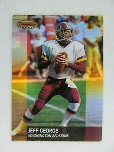 Jeff-George-Washington-Redskins-2001-Topps-Bowman-Football-Card-55