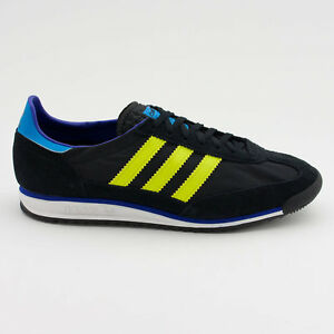 huge discount 8cebe dc988 Image is loading Adidas-Originals-SL-72-Mens-Trainers-in-Black
