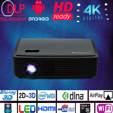 4K DLP Projector Luxcine LED Z3000 Android  3D Bluray Wifi HD 2205P Home Cinema