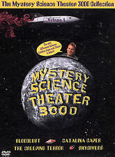 Mystery Science Theater 3000 Collection - Vol. 1 (DVD, 2002, 4-Disc Set)