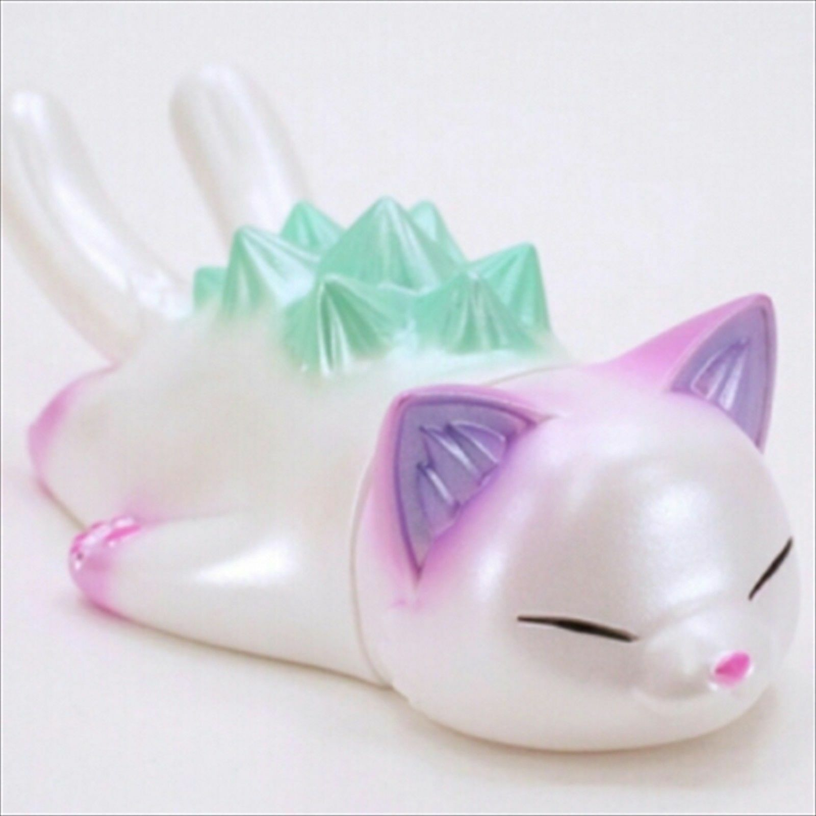 Konatsuya Negora Sleep Negora  Pearl Version Sofubi Cat cifra from Japan Rare    vendita di fama mondiale online