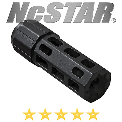 Ncstar 7.62X39 Rifle Muzzle Break Reduce Recoil Rise Barrel Detent Chambers