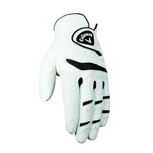 New-Callaway-Fusion-Pro-Men-039-s-Golf-Glove-White-Pick-Size