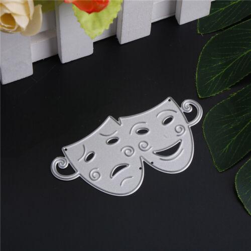 Máscara de recortes Álbum de Fotos Decoración de metal de la plantilla de corte muere artesanía Hazlo tú mismo PIP